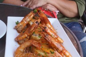 Shrimp Mozambique - delivery menu