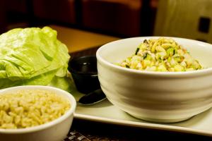 P4. Lettuce Wrap Plate - delivery menu