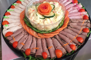 2 lbs. Cold Cuts Platter Tray - delivery menu