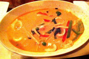 Red Curry Entree - delivery menu