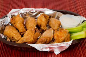 Wings - delivery menu