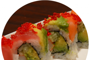 S2. Rainbow Roll - delivery menu