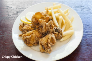 Fried Crispy Chicken - delivery menu