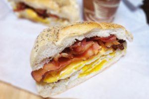 Bacon, Egg, and Cheese Sandwich - delivery menu