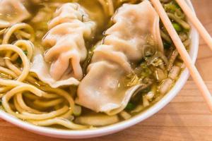 Dumpling Noodle Soup - delivery menu