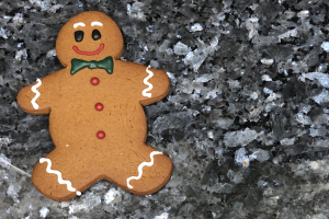 Gingerbread Man cookie  - delivery menu