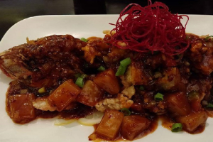 Thai Style Red Snapper (Boneless) - delivery menu