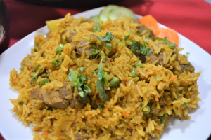 LAMB  BIRYANI - delivery menu