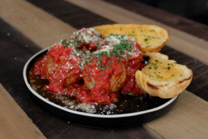 4 Meatballs with Marinara Sauce and Parmesan Cheese - delivery menu