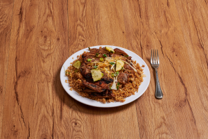 Jerk Chicken Fried Rice - delivery menu