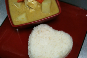 Chicken in Yellow Curry - delivery menu