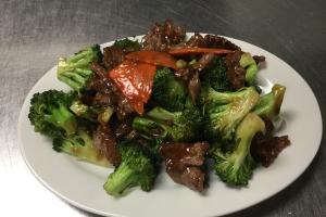43. Broccoli Beef - delivery menu