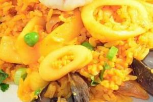 Arroz con Mariscos - delivery menu