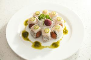 Hamachi Lover Roll - delivery menu