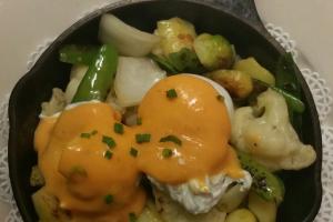 Vegetable Hash - delivery menu