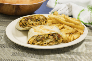 6. Chicken Fajita Wrap - delivery menu