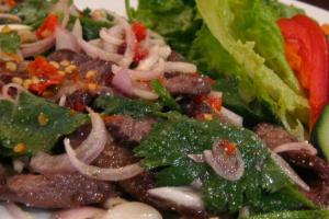 Beef Salad - delivery menu