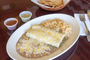 Enchiladas Dinner - delivery menu
