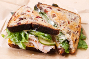 5S. Smoked Turkey with Brie Sandwich - delivery menu