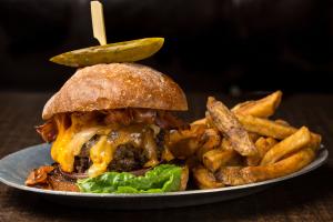 The Texan Burger - delivery menu