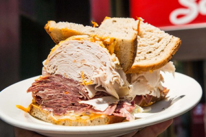 6. Fresh Roasted Turkey and Tongue Sandwich - delivery menu