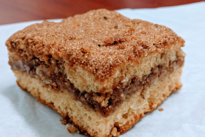 Coffee Streusel Cake - delivery menu