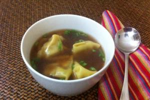 20. Wonton Soup - delivery menu