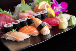 Sushi and Sashimi Combination - delivery menu