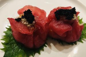 Tuna King Crab Dumpling - delivery menu
