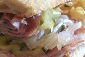 Deluxe Mortadella Ham Sandwich - delivery menu