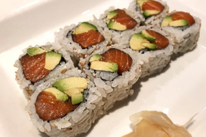 Salmon with Avocado Roll - delivery menu