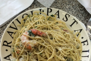 Shrimp Scampi - delivery menu