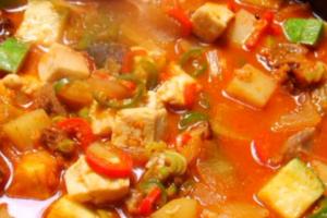 Chili Paste Stew - delivery menu
