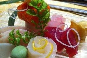 Sashimi Regular mix - delivery menu