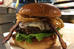 BBQ Bacon Burger Lunch - delivery menu