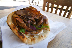 L26. Beef Gyro Lunch - delivery menu
