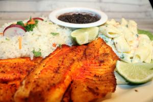 Filete de Pescado a la Plancha - delivery menu