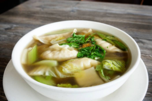 Dumpling Soup - delivery menu