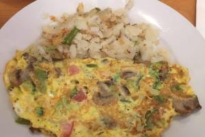 Garden Omelette - delivery menu