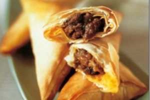 Beef Samosa - delivery menu