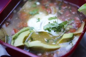 Chicken Tortilla Soup - delivery menu