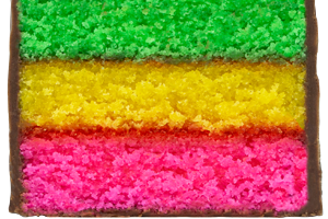 Cake Bite Rainbow  - delivery menu