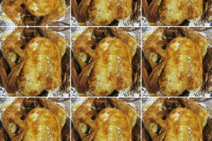 Fried Turkey Package  4 hour advance notice feeds 12 to 15 - delivery menu