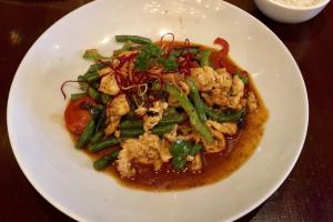 Pad Prig Khing Sauteed Entree - delivery menu