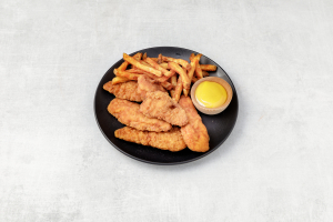 Chicken Fingers with Fries - delivery menu