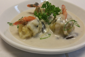 Creamy Shrimp Dumpling - delivery menu