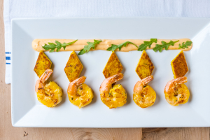Moroccan Grilled Shrimp - delivery menu