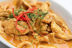 Panang Chicken Curry - delivery menu