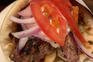 Pork Souvlaki Sandwich - delivery menu