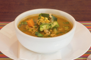 Chicken, Noodle and Vegetables Soup - delivery menu
